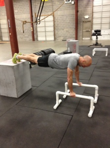 Top of pushup