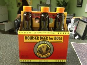 Beer for Luke. He's a big boy now!