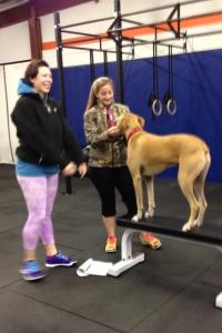 Siobahn and Kristina loving on Luke!