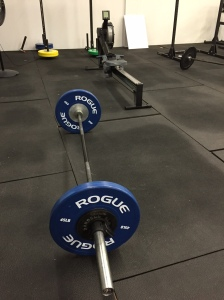 My rower and BS barbell